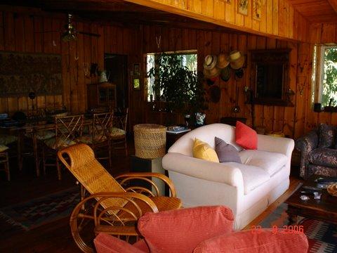 Casa en Living de la casa principalCasa de campoenLago  Rapel