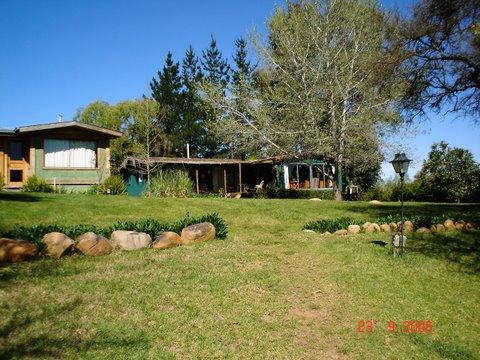 Casa en Fachada de las dos casasCasa de campoenLago  Rapel