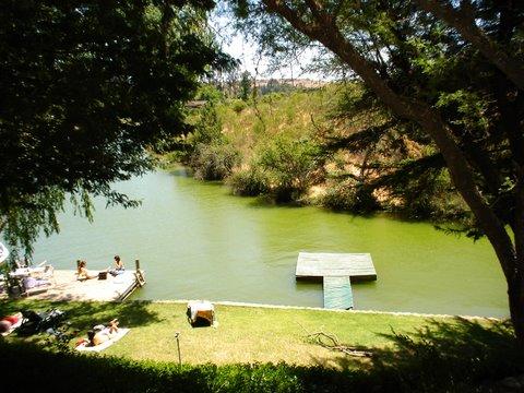 Casa en Vista del lago y muelleCasa de campoenLago  Rapel