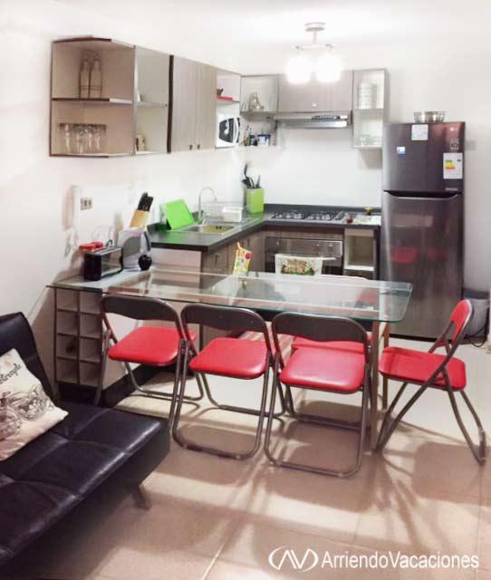 Casa en comedor a la americanaDepartamentoenAlgarrobo