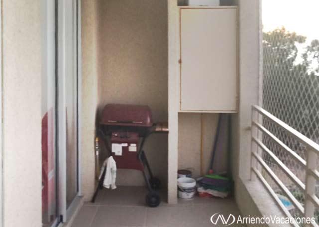 Casa en asadera en terraza.DepartamentoenAlgarrobo