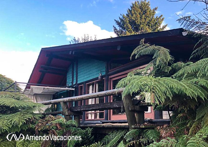 arriendovacaciones.cl - arriendo alquiler de Casa en Lago Calafquen
