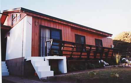 Casa en TERRAZA Y FRONTIS DE LA CASACasaenAlgarrobo