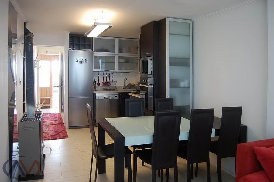 Casa en Vista Comedor CocinaDepartamentoenLa Parva